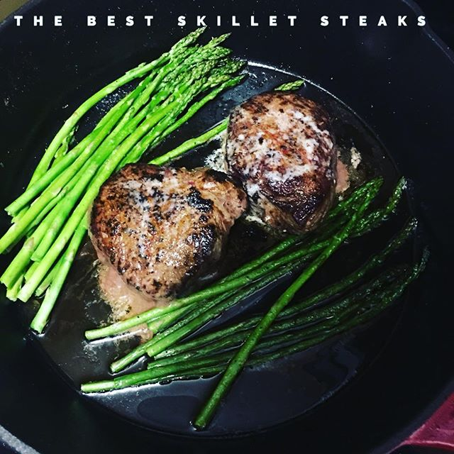 Link to the best recipe in bio. #steak #foodporn #recipes #datenight