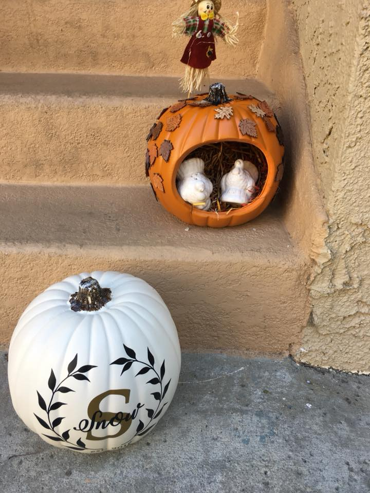 Pumpkin Decor You Can Use For Years To Come!! - When the season is over, I will pack this up for storage until next Fall!What's your favorite fall craft?