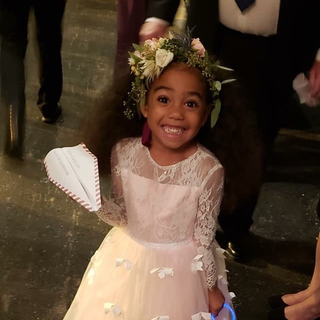 This is my niece, Trinity Snow. She was just the absolute best flower girl anyone could ask for. I will forever remember seeing her face looking at her own reflection for the first time in her dress. She truly is a princess. #flowergirl