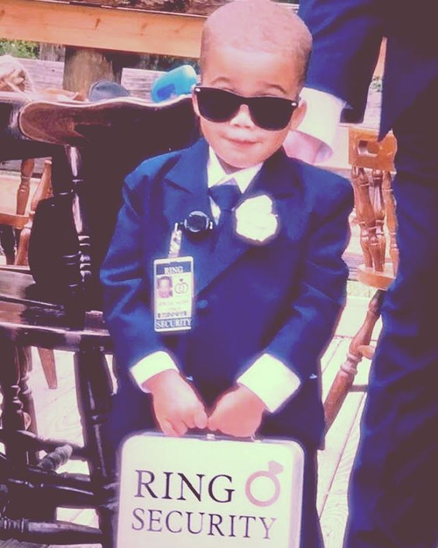 Special Agent Linkin keeping our rings secure. #ringsecurity