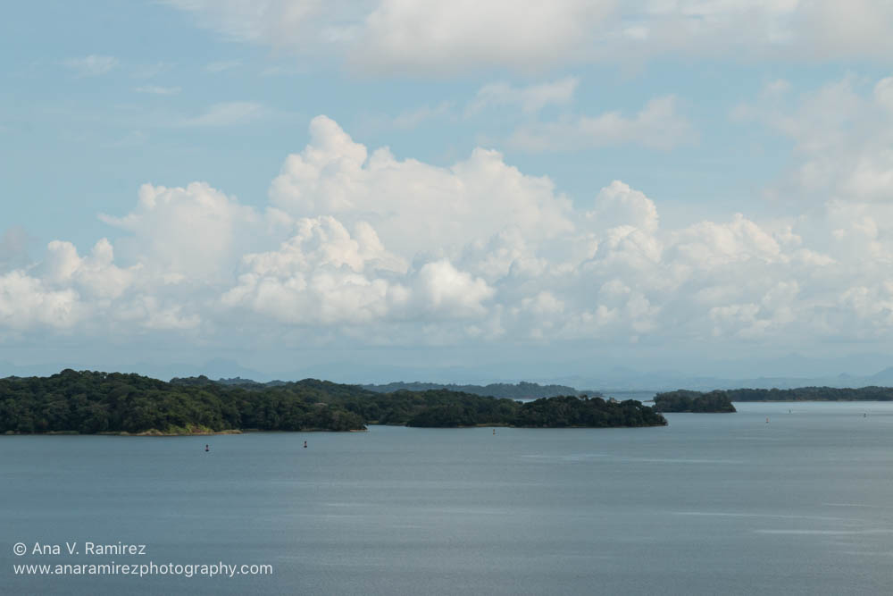 The tropical climate in Panama made some amazing clouds.
