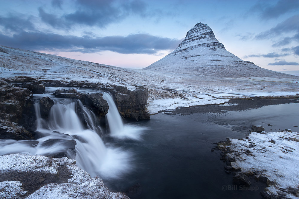 Fresh Snow on Kirkjufell