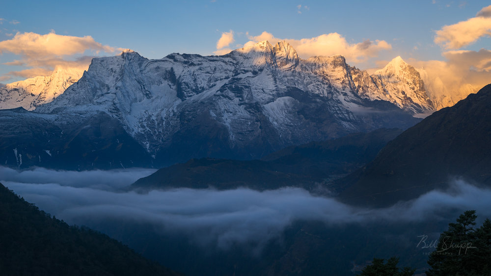 Sunrise from Tengboche