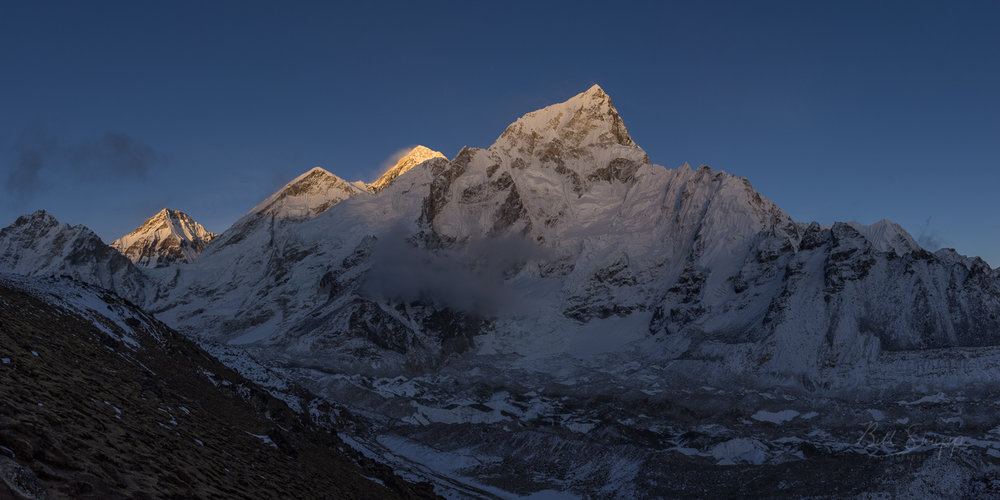 Sunset on Mr. Everest