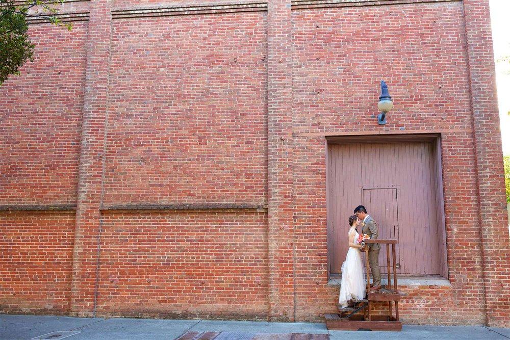 Historic hotel woodland wedding