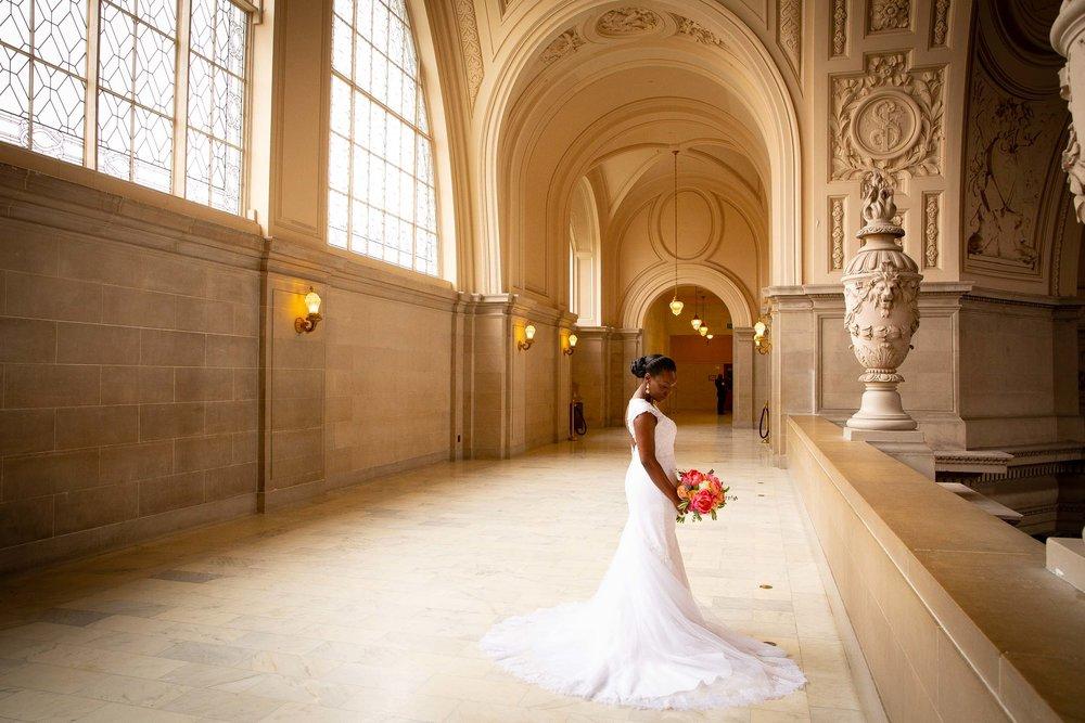 San Francisco city hall wedding ceremony-Atiyyah and Guy Marino-2.jpg