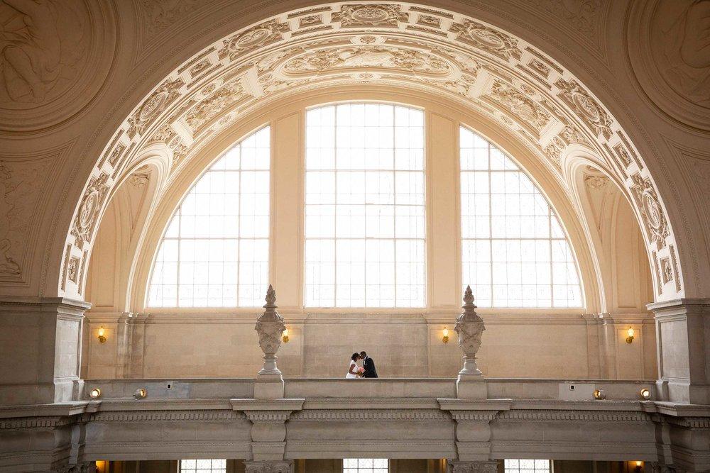 San Francisco city hall wedding ceremony-Atiyyah and Guy Marino-1.jpg
