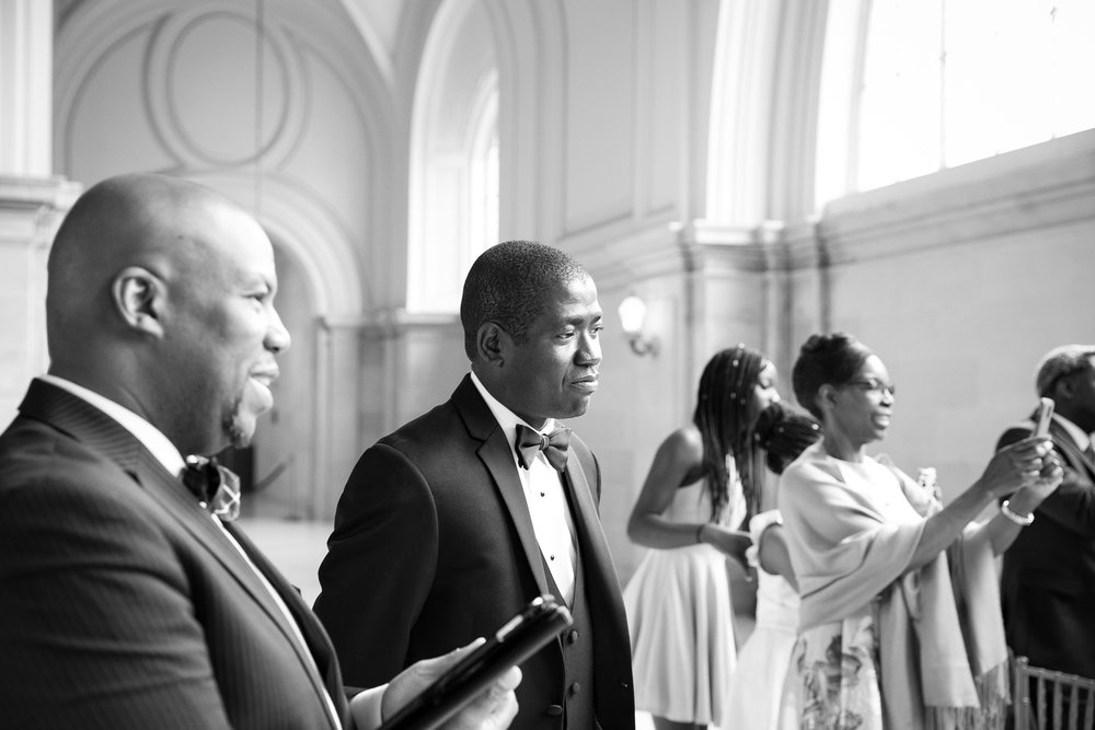 San Francisco city hall wedding ceremony-Atiyyah and Guy Marino-9.jpg