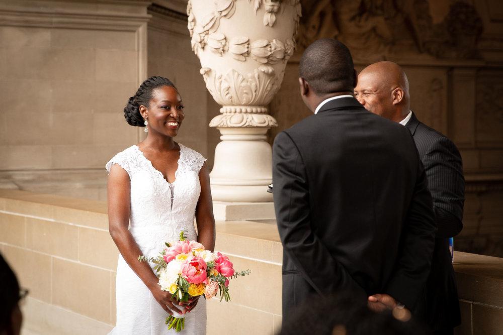 San Francisco city hall wedding ceremony-Atiyyah and Guy Marino-11.jpg