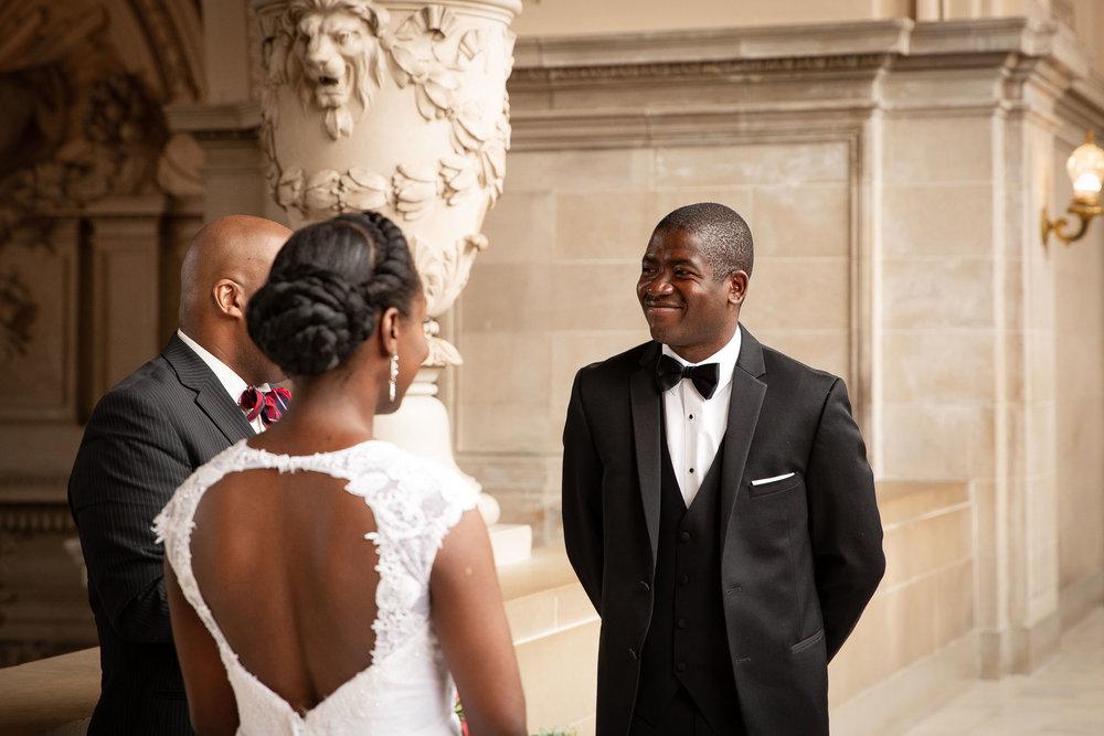 San Francisco city hall wedding ceremony-Atiyyah and Guy Marino-12.jpg