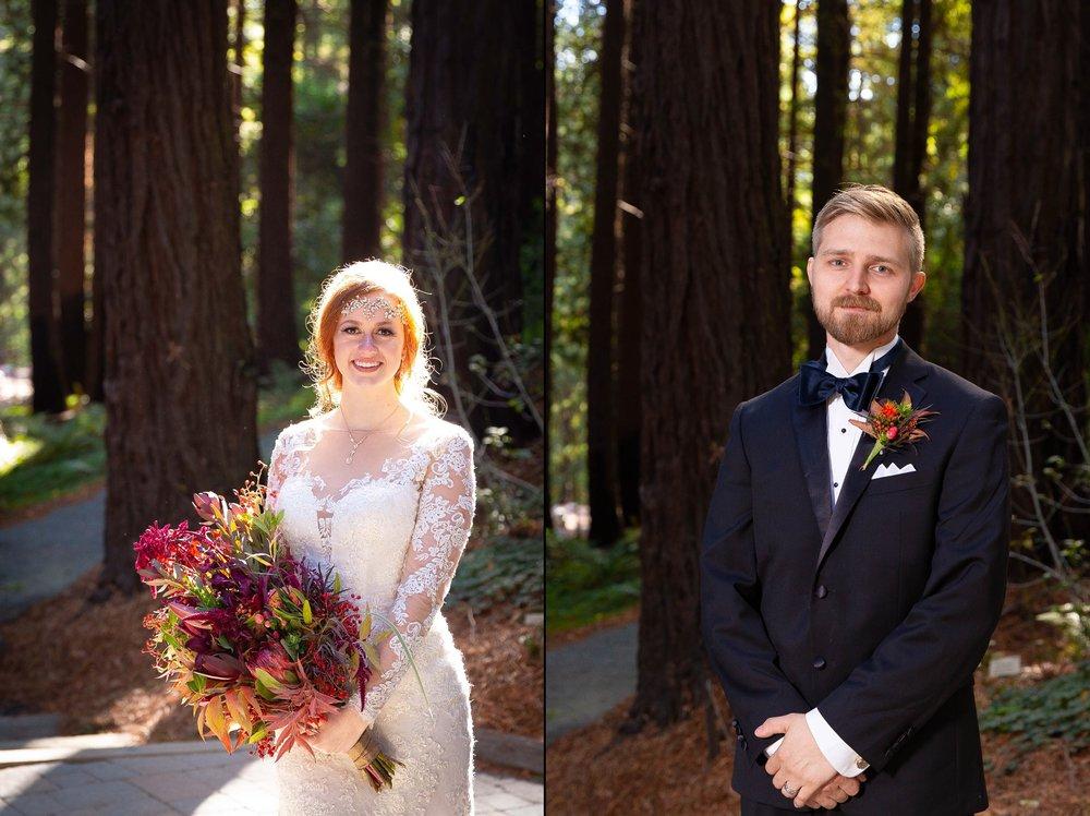 Berkeley Botanical Garden Wedding Ceremony in the Redwood Grove Ceremony and SF Bay Wedding Cruise Reception-3.jpg