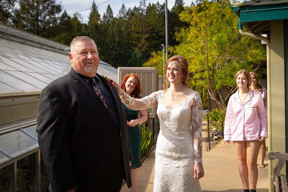 Berkeley Botanical Garden Wedding Ceremony in the Redwood Grove Ceremony and SF Bay Wedding Cruise Reception-13.jpg