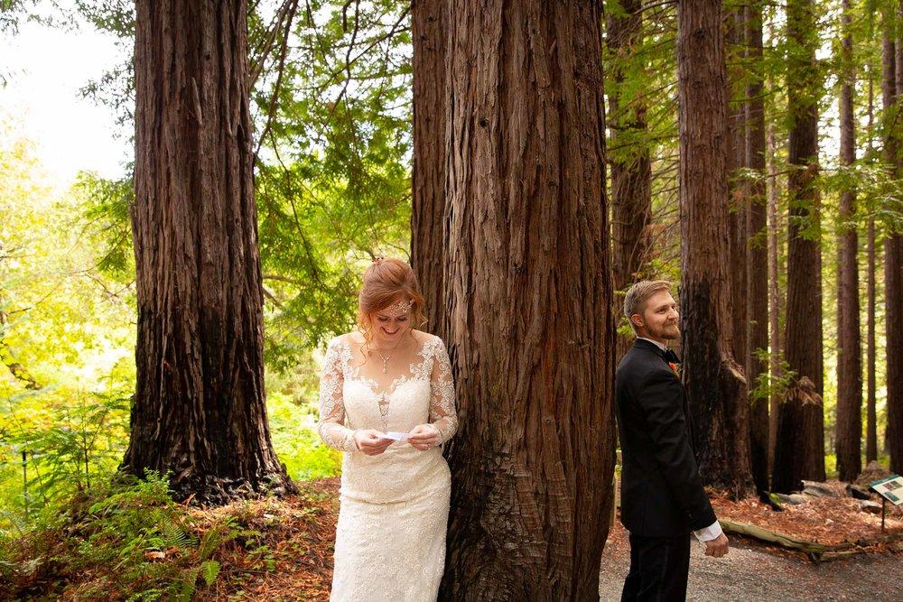 Berkeley Botanical Garden Wedding Ceremony in the Redwood Grove Ceremony and SF Bay Wedding Cruise Reception-22.jpg