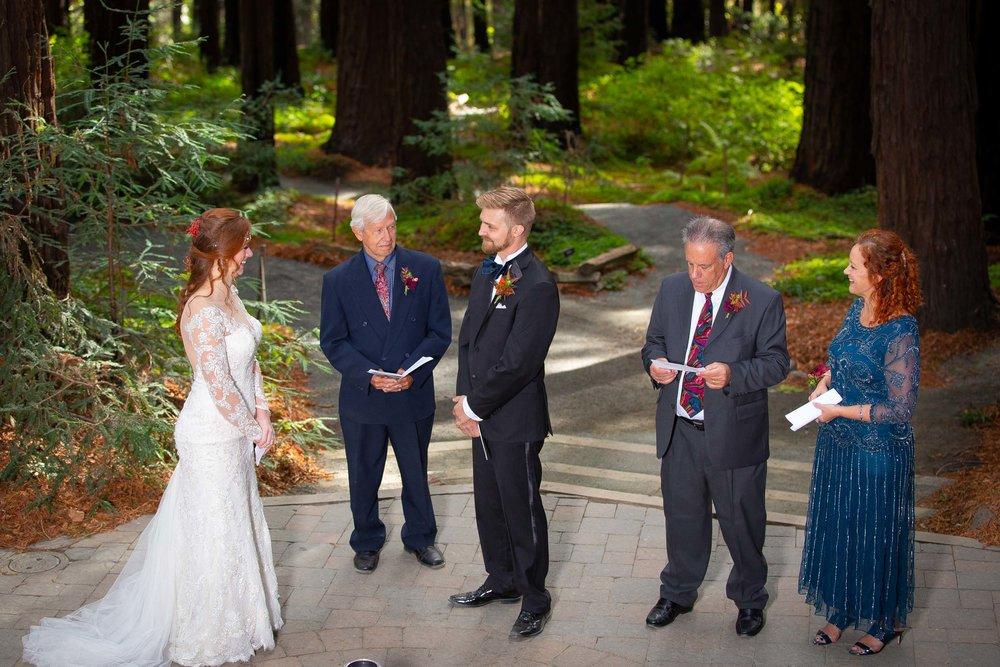 Berkeley Botanical Garden Wedding Ceremony in the Redwood Grove Ceremony and SF Bay Wedding Cruise Reception-33.jpg