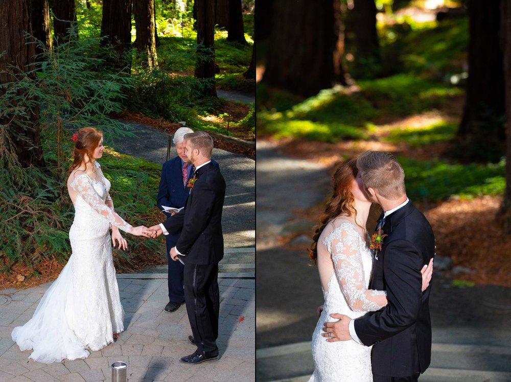 Berkeley Botanical Garden Wedding Ceremony in the Redwood Grove Ceremony and SF Bay Wedding Cruise Reception-42.jpg
