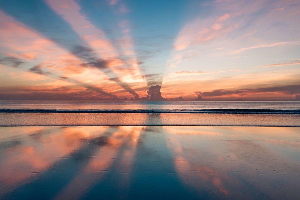 Sunset- stress less