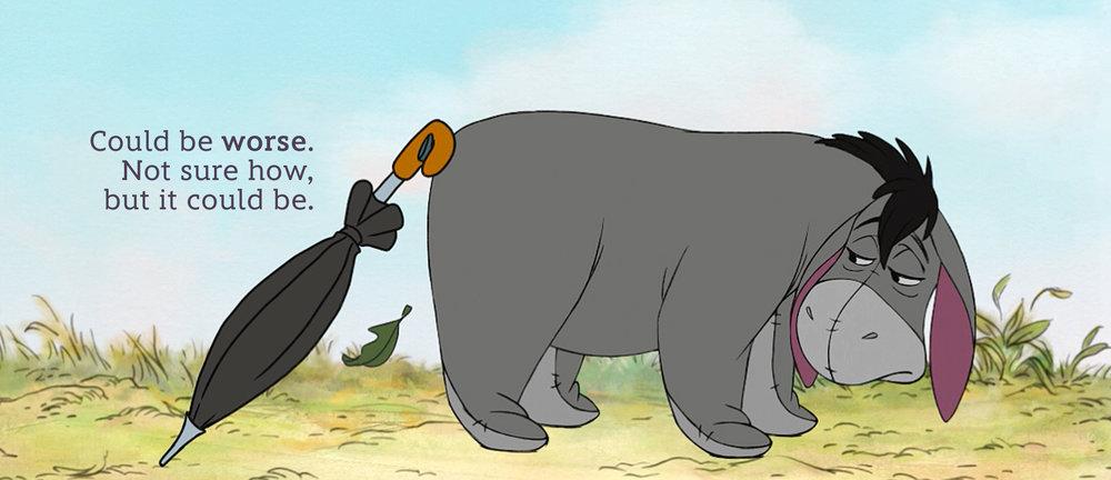Eeyore, Winnie the Pooh © Disney