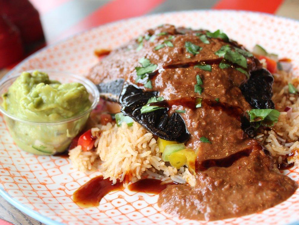 Jack Burrito - Winter Menu - Mole poblano