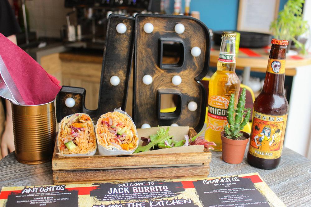 Jack Burrito - one year anniversary