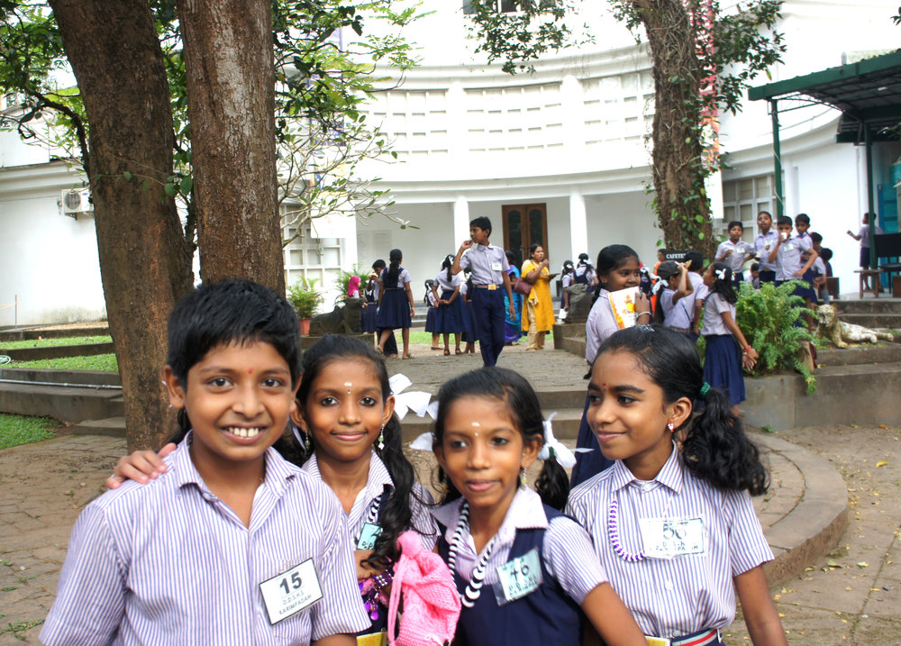 School Visit and day-spend by Karimpadam School