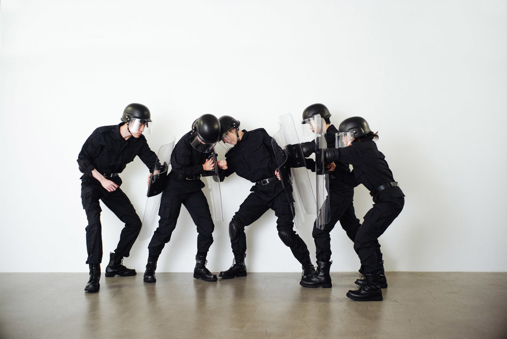 Rehearsal of the futures: Police Training Exercises, 2018