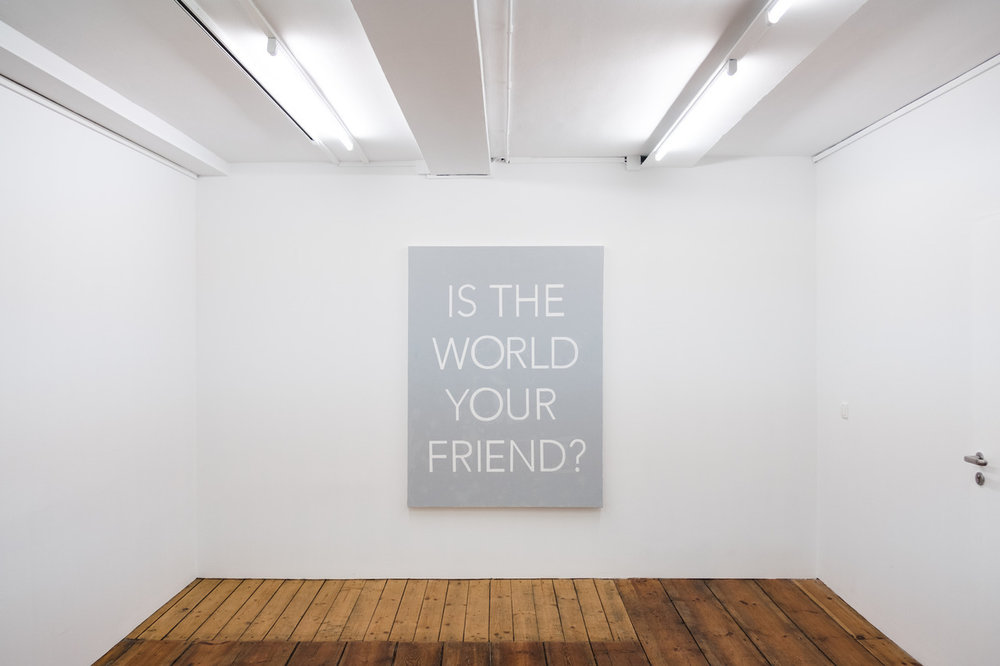 Question #2: Is the World Your Friend?