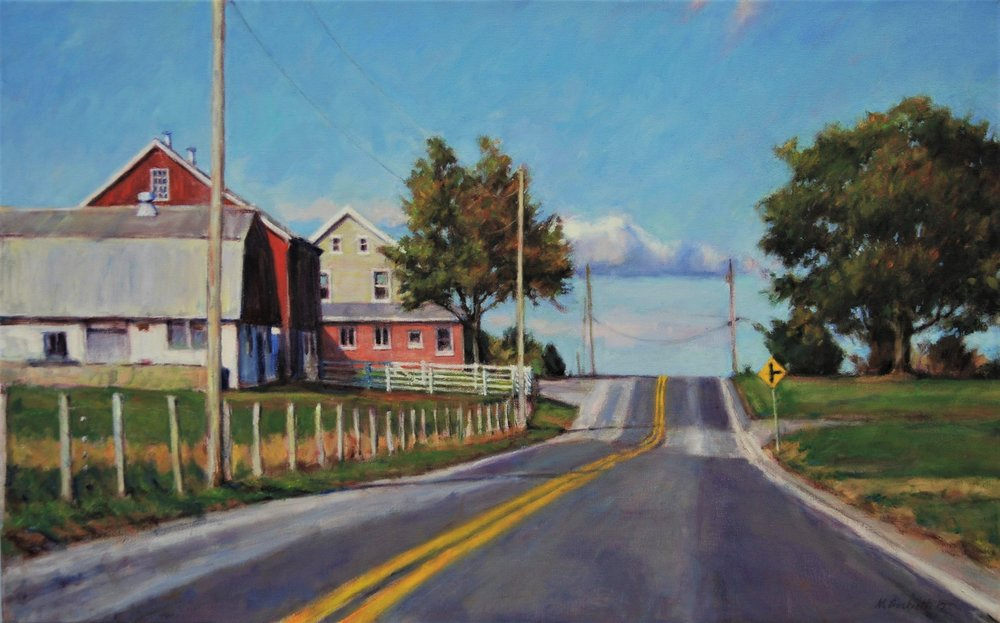 1. Mark Bockrath.Annville Farm, oil on canvas, 2017, 20x32.JPG