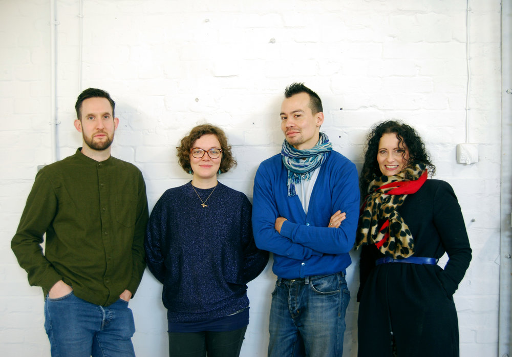 L-R: Steve, Alice, Dave and Louise.