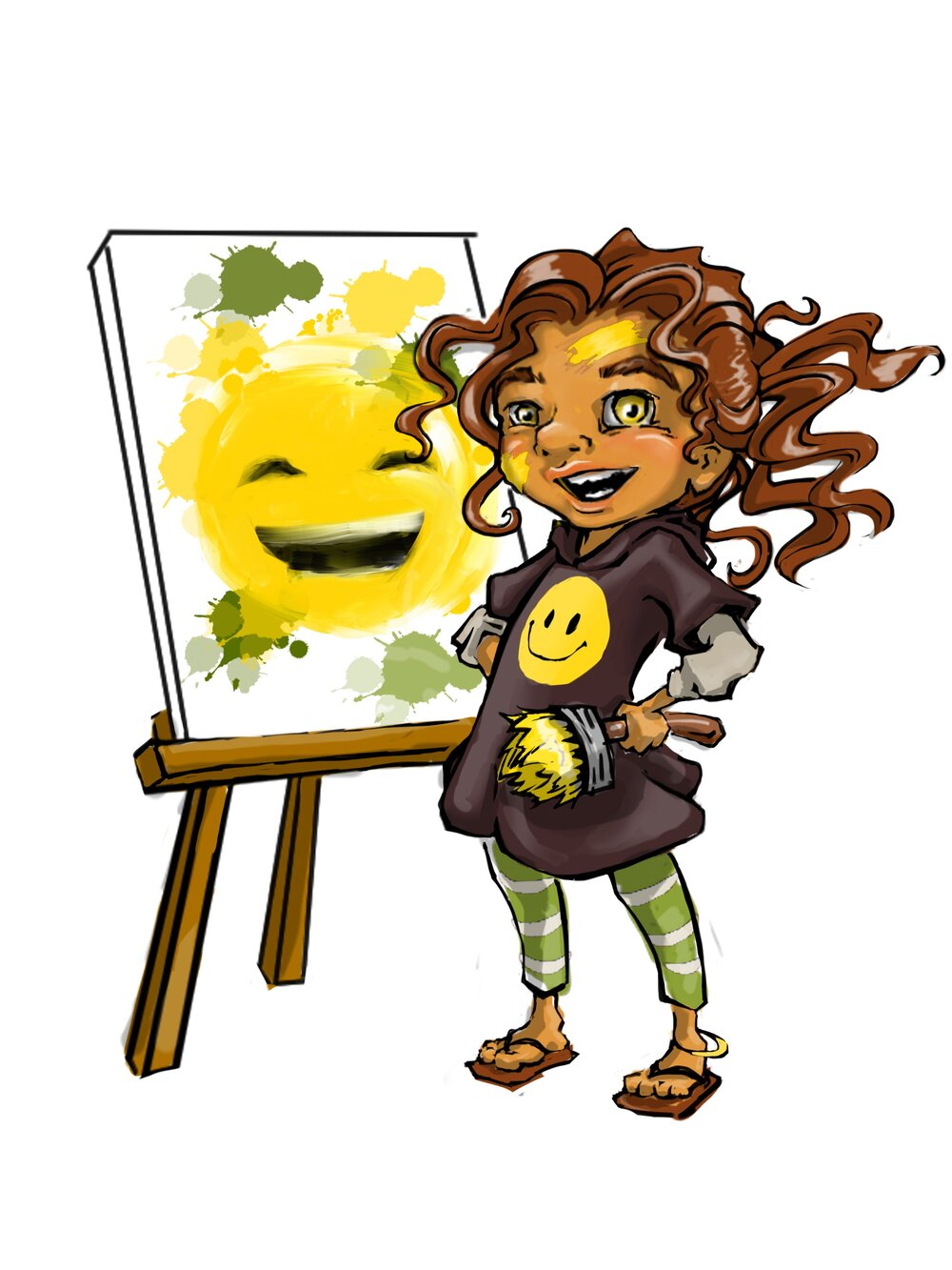 Naima, the Artist -