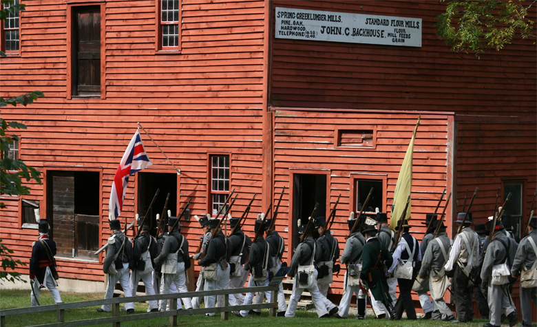 Backhouse Historic Site - Robert is on the Committee that oversees the Backhouse Historical Site. Watch history come alive as the re-enactors take us back to the War of 1812. September 8 and 9, Backus Conservation Area, Port Rowan.