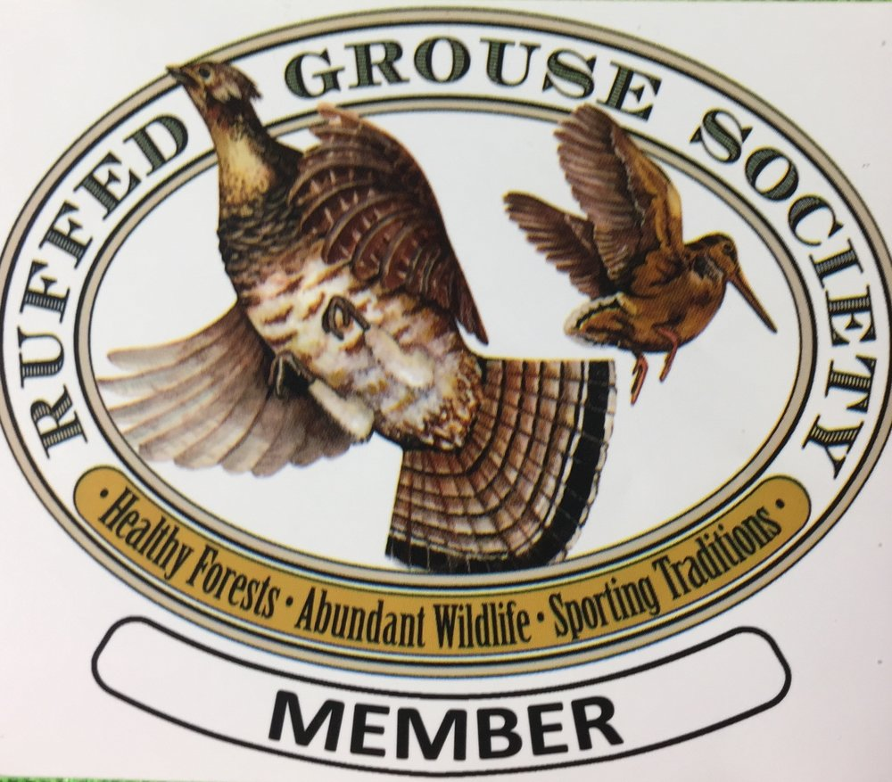 Ruffed Grouse Society - As a member of the Ruffed Grouse Society, Robert supports healthy forests, abundant wildlife and sporting traditions