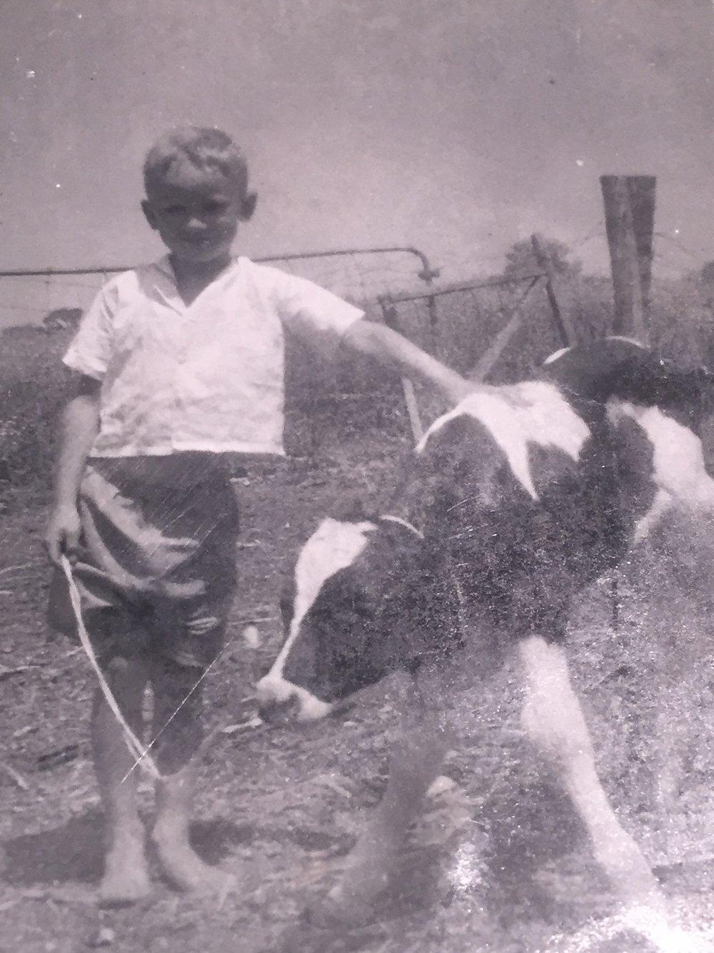 Robert grew up on the farm