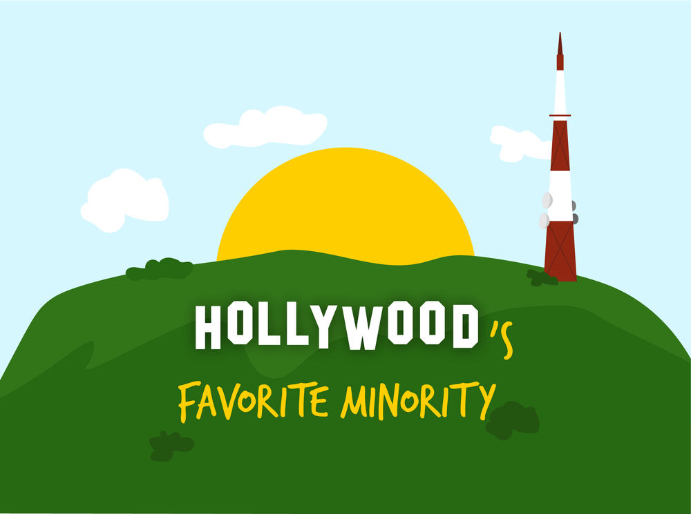 Hollywood's Favorite Minority Illustrations