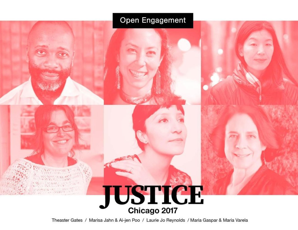 Keynote Address at Open Engagement, Chicago, 2017.