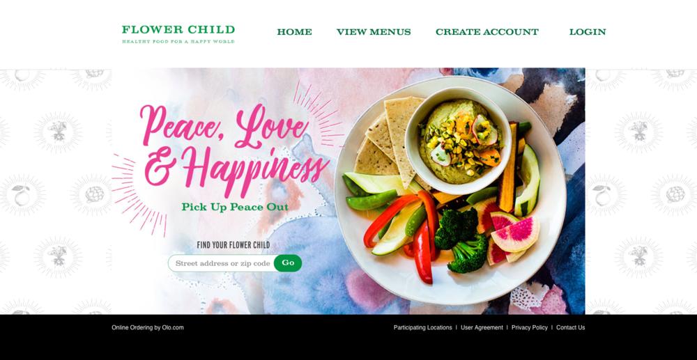 flower child online ordering