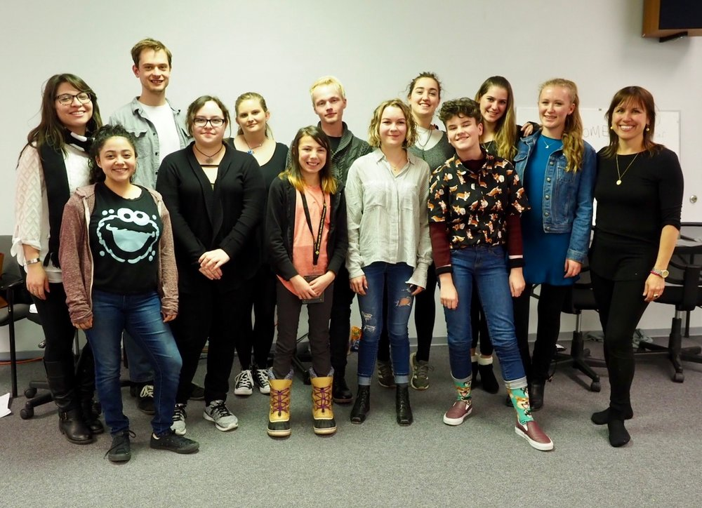 NMGMM Mentees and Actors in the Santa Fe Workshop, March 2018.
