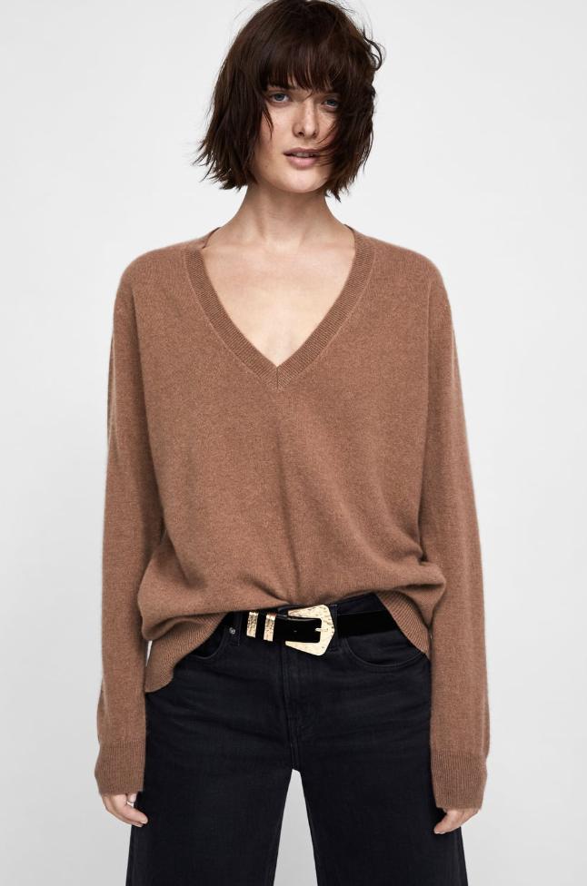 Zara, Cashmere Jumper, £99.99