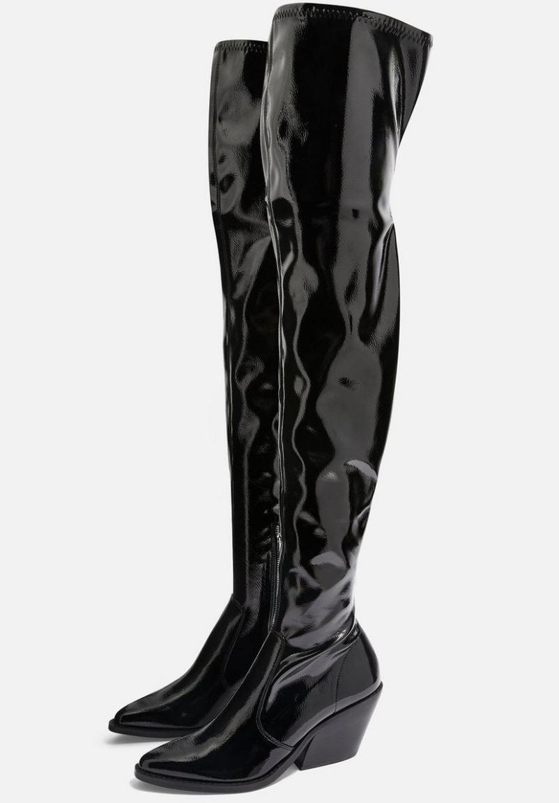 Topshop, boots, £85.00