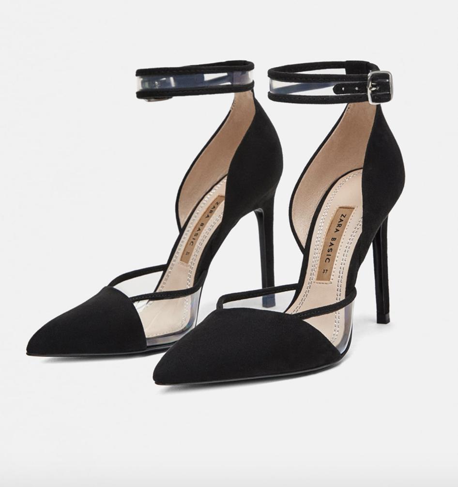 Zara, heels, £39.99