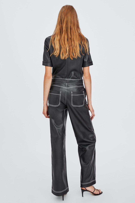 Zara, Faux Leather Trousers, £29.99