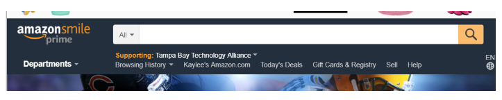 #Success - Now whenever you shop at Amazon you should see that you are supporting TBTA!!