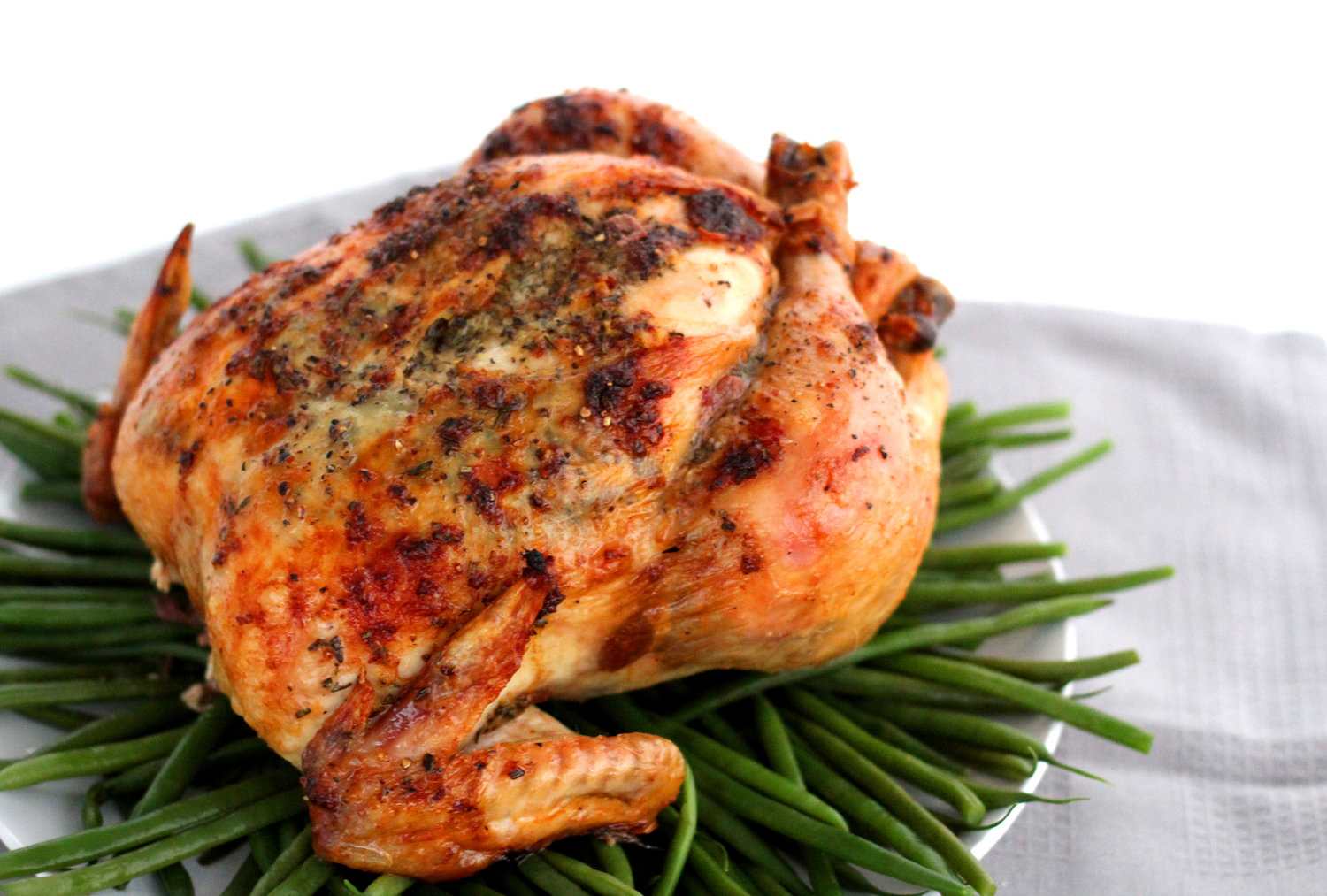 Butter Herb Roasted Chicken