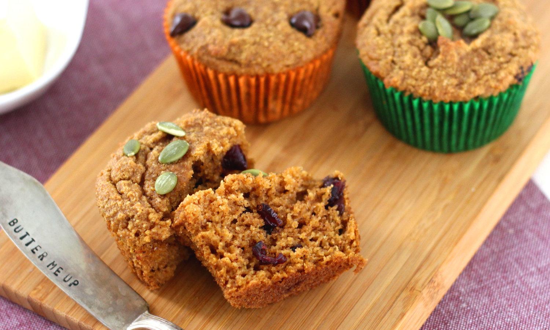Grain Free Pumpkin Muffins