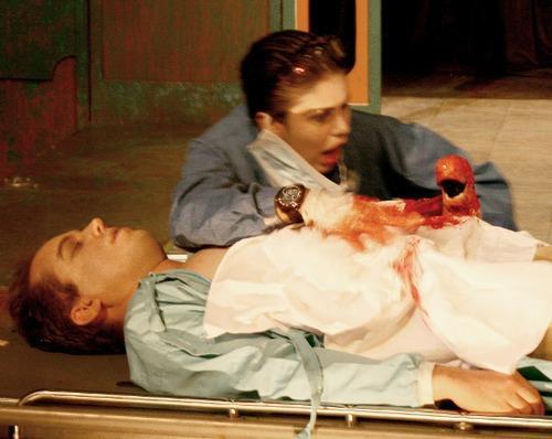 cletus the fetus foetus latex horror prosthetic prop by Rob Fletcher thrillpeddler shocktoberfest 2010 directed by paulo biscaia filho vigor mortis grand guinol
