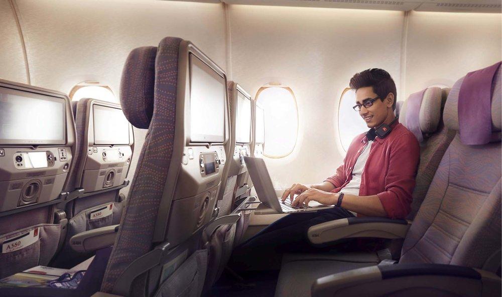 Economy Class Inflight Wi-Fi