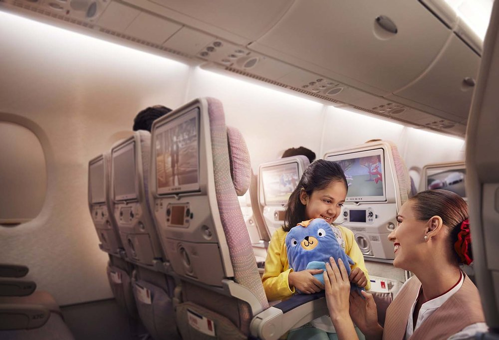 Economy Class Children's Amenities