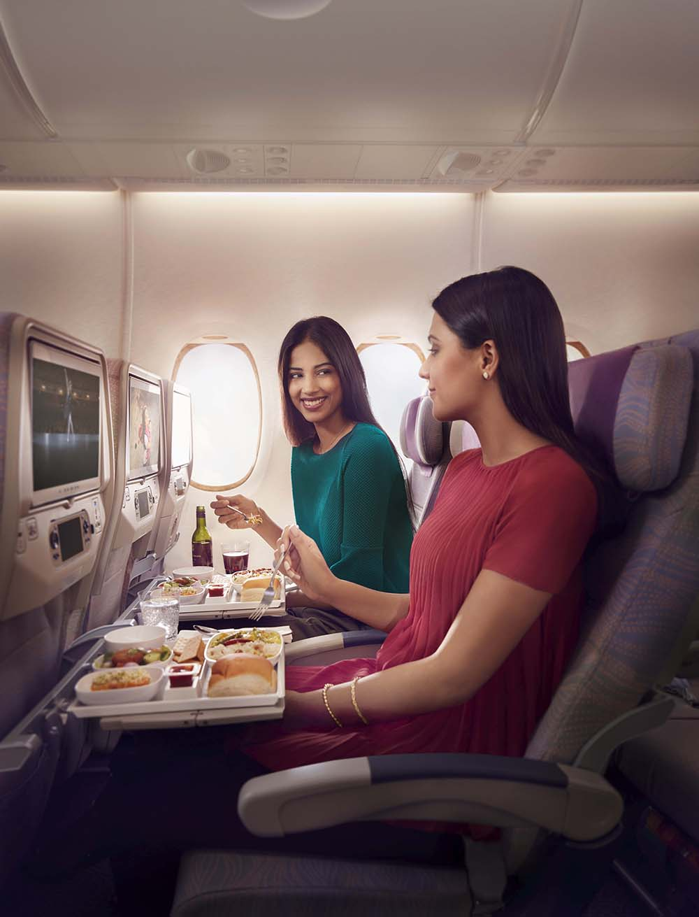 Economy Class Cuisine and Companion Fares