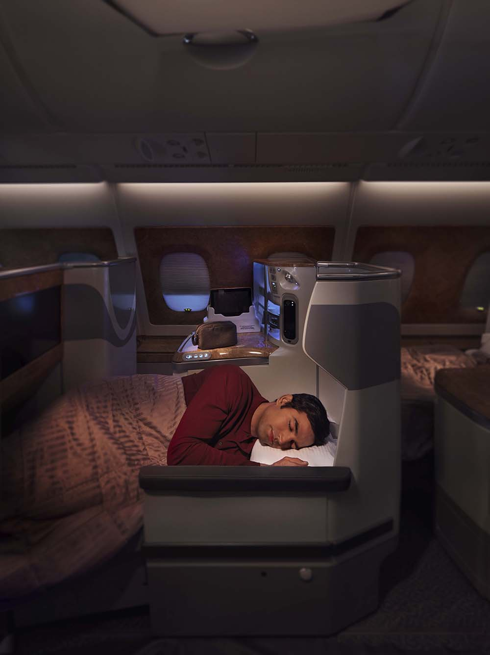 Business Class Lie-Flat Seats