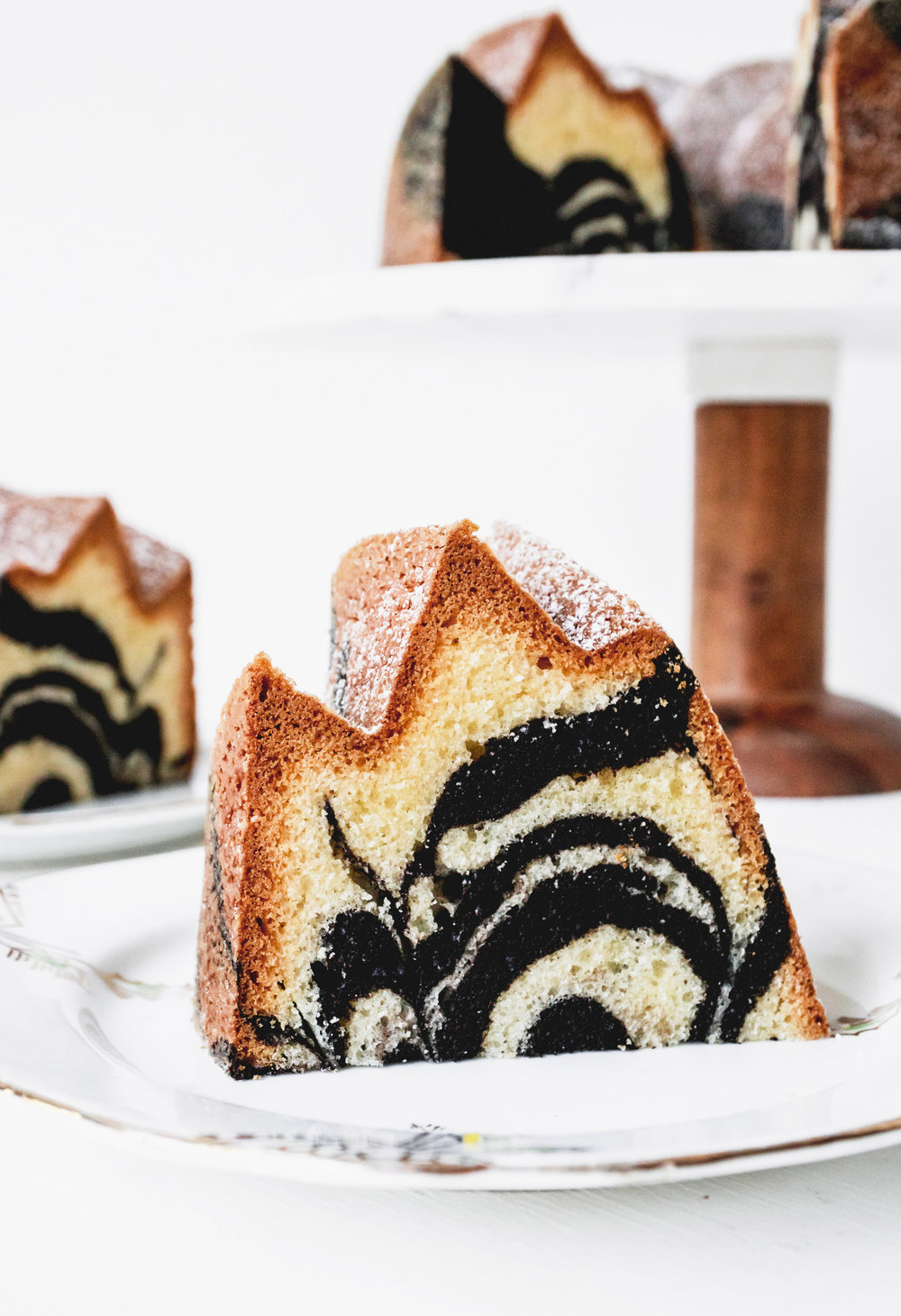 thermomix marble cake - Delicious Monster