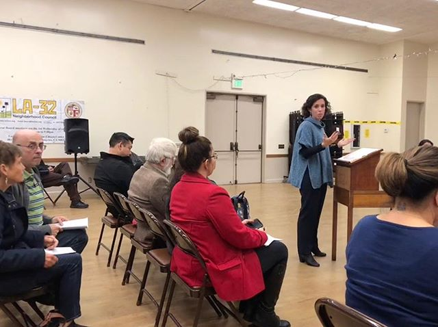 Thanks to the LA-32 Neighborhood Council for having me at tonight's meeting to discuss the need for a parent perspective on the LAUSD Board to improve our schools! #allin4allkids #AllisonforLAUSD